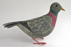 """""""Pigeon"""" textile sculpture by Emily Sutton"""