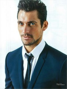 David Gandy for Elle Men China