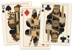 **Brut poker cards will share the same back design as the tarot cards.  On Kickstarter