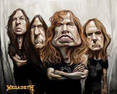 rock caricatures | IsaaK musiK Korner for chupaKabras
