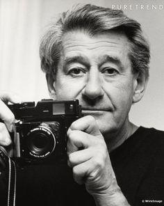 Helmut Newton - Self portrait    I love this man's work