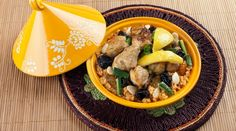 Berber Invitation by Anais  Fish Couscous with its vegetables - Mild