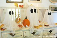 Best DIY Halloween Ghosts Ever!