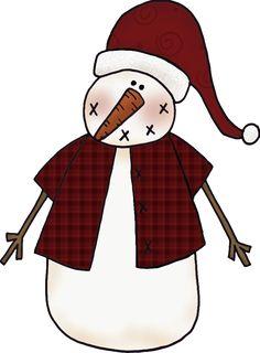 Free Cheerful Snowman