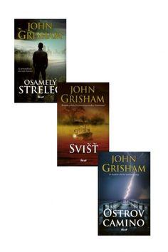 Kniha: Svišť+Ostrov Camino+Osamelý strelec KOMPLET (John Grisham) | bux.sk John Grisham, Agatha Christie, Cyprus, Author