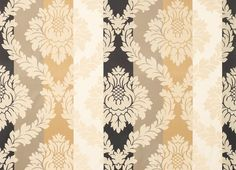 Vittorio Gold Woven Jacquard Cotton Curtain Fabric