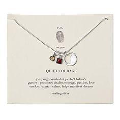 Quiet Courage Necklace
