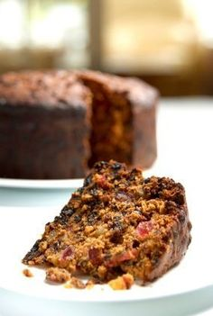 Emily Dickinson's Black Cake Leave out the citron, raisins, currants; replace with dates, walnuts, cranberries.