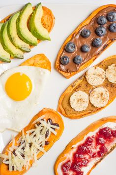 Check out some of the Yummy alternatives to toast in the morning, see how easy it is to whip up one of these treats.