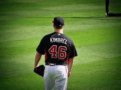 Craig Kimbrel during batting practice