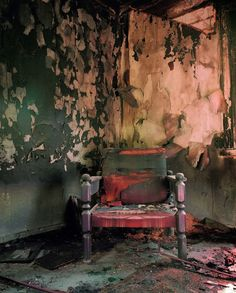For Sale on - Sylvi?, C Print by Esko Männikkö. Offered by Yancey Richardson Gallery. No Ceilings, Take A Seat, Abandoned Places, Abandoned Mansions, Solitude, Past, Artsy, Gallery, Artwork