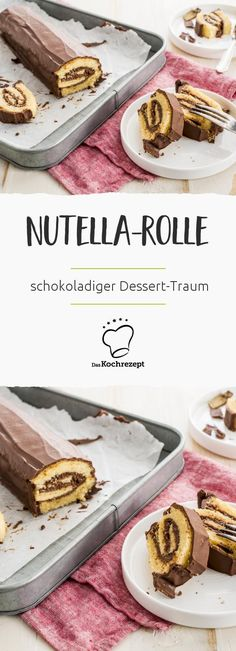 Nutella-Rolle aus Biskuit-Teig, Nuss-Nougat-Creme-Kuchen oder -Schnecke? Unabhängig davon wie du den Dessert-Traum präsentieren willst, dieses einfache Backrezept ist der Weg zum Glück!