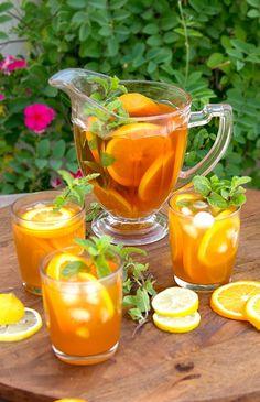 Холодный цитрусовый чай