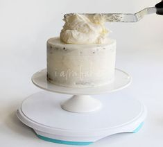 How to Build and Decorate a Layer Cake: tips on leveling, refrigerating, crumb-coating, and frosting.