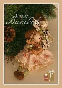 Dolci Bambole-porcelana fria, porcellana fredda.