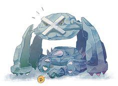 Beldum, Metang, and Metagross Pokemon Pins, Nintendo Pokemon, Play Pokemon, Pokemon Images, Pokemon Fan Art, Cool Pokemon, Equipe Pokemon, Original Pokemon, Pokemon Special