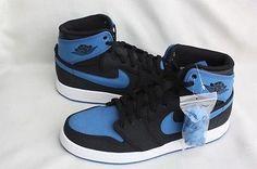 2014 Nike Air Jordan AJ1 KO High OG SZ 11 Sport Blue Royal QS 638471-007