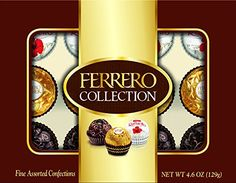 Ferrero Rocher Fine Hazelnut Milk Chocolates, 12 Count, Assorted Coconut Candy and Chocolate Collection Gift Box, oz Chocolate Morsels, Chocolate Gifts, Chocolate Lovers, Ferrero Rocher Chocolates, Ferrero Chocolate, Coconut Candy, Thing 1, Candy Gifts, Raffaello