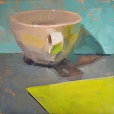 Carol Marine's Painting a Day: Simple Cup 2