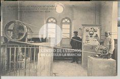 Maquinaria eléctrica y cadena hélice para la elevación del agua by Centro de Estudios de Castilla-La Mancha (UCLM), via Flickr