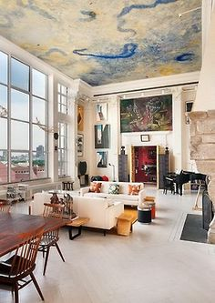 Cool & modern loft spaces