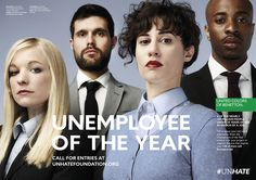 "Benetton Celebrates the Potential of Young People in ""Unemployee of the Year"" Campaign 