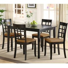 5 Piece Havana Dining Set In Espresso By TMS. $287.99. 22015ESP Includes:   Set Includes One Dining Table And Four Dining Chairs. Options:  Contempou2026