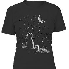 CAT AND MOON <3 ⚠ Order here: ➡ https://www.teezily.com/cat-and-moon http://amzn.to/2k2HTMQ