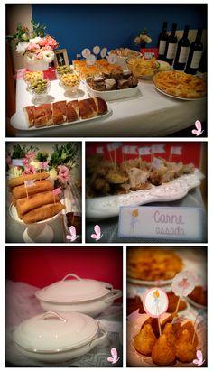 The table of the salty catering. The theme of this birthday party was the sweet ballerina. Read more: http://eraumavez-osonhoperfeito.blogspot.pt/2014/03/apontamentos-salgados.html