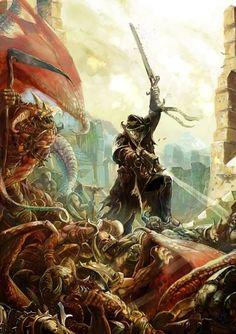 Imperial Guard vs. Chaos Daemons