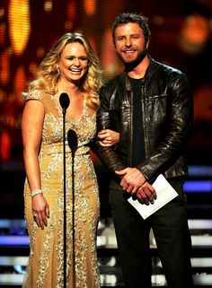 Miranda and Dierks at the Grammys
