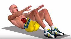 Como hacer crunch abdominal. Instrucciones para hacer el ejercicio, músculos involucrados, errores frecuentes en la ejecución. Videos de abdominales.
