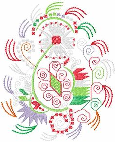 Decoration free embroidery design 25 - Decoration element - Machine embroidery forum