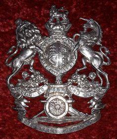 First East York Artillery Officers Helmet Plate