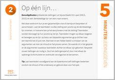 Een voorbeeld uit '5 minuten leidinggeven' http://www.onderwijsmaakjesamen.nl/magento/5-minuten-leidinggeven.html
