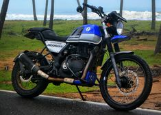 Royal Enfield Himalayan Street Tracker by Rough Rider – BikeBound Himalayan Royal Enfield, Royal Enfield Modified, Street Tracker, Metal Shaping, Custom Motorcycles, Bmw Motorcycles, Cafe Racer Girl, Rough Riders, Lady Biker