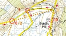 Full Tour Pendle & Stan Bradshaw Round Race Map