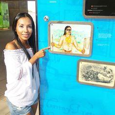 Conociendo la historia de donde vinimos en el Biomuseo. #panama #travel