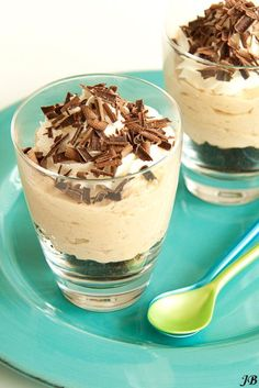 Carolines blog: Onweerstaanbaar dessert met pindakaas