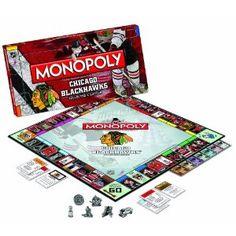 NHL Blackhawks Monopoly