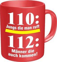 Feuerwehr Tasse 112 - DFV - Tasse - Kaffee - Pott - - http://www.1pic4u.com/blog/2014/09/21/feuerwehr-tasse-112-dfv-tasse-kaffee-pott/