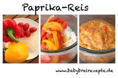 Paprika-Reis Rezept zum Selbermachen - Babybreirezepte zum Selberkochen.