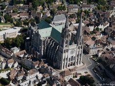 ✈️ Photo aérienne de : Chartres - Eure-et-Loir (28)