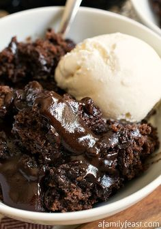 Hot Fudge Pudding Cake Recipe - RecipeChart.com
