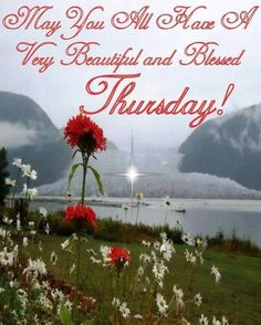 May You All Have A Very Beautiful And Blessed Thursday!