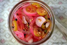 Pickled Red Onions  a simple pickling project to add to your repertoire.