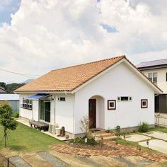 わたしたちの大好きでできた平屋のおうち - かわいい家photo Future House, My House, Building Layout, Dream House Exterior, Industrial House, My Dream Home, House Plans, Sweet Home, House Design