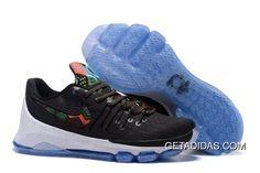 8f31ffdd2978 Nike Kd 8 Viii Black Red Blue White TopDeals