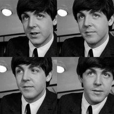"Paul McCartney"" the cute Beatle!!!!!"""