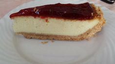 Cheesecake cotta con marmellata